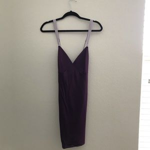 Victoria Secret Purple Strap Slip Dress